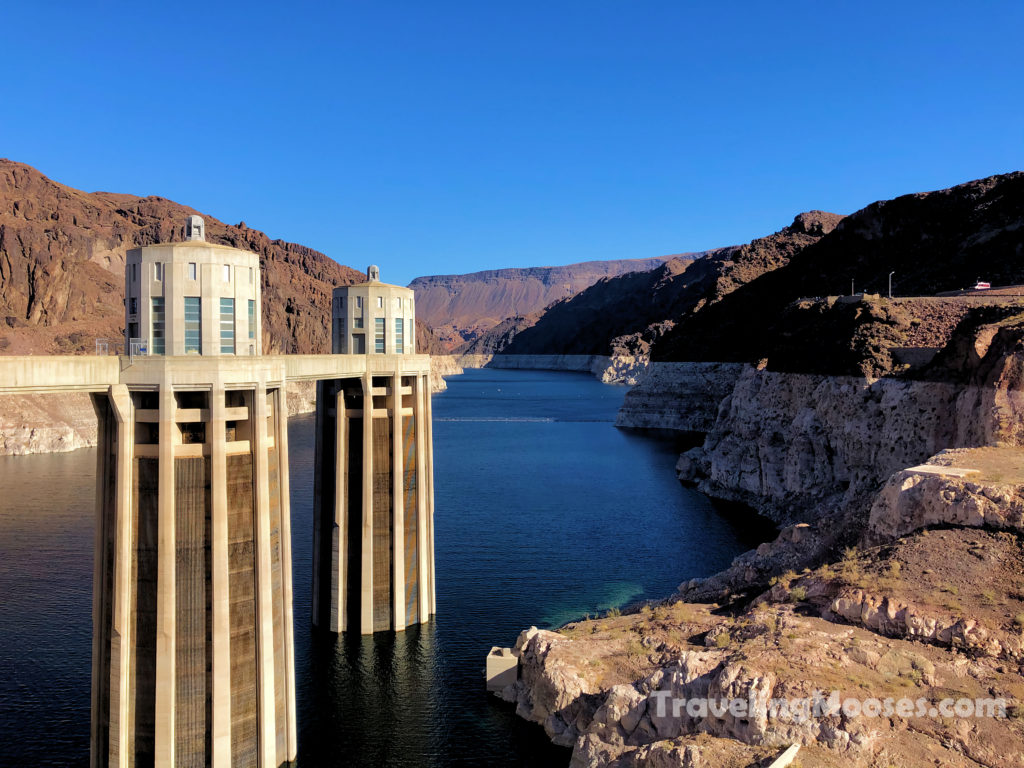 Water towers at Hoover Dam