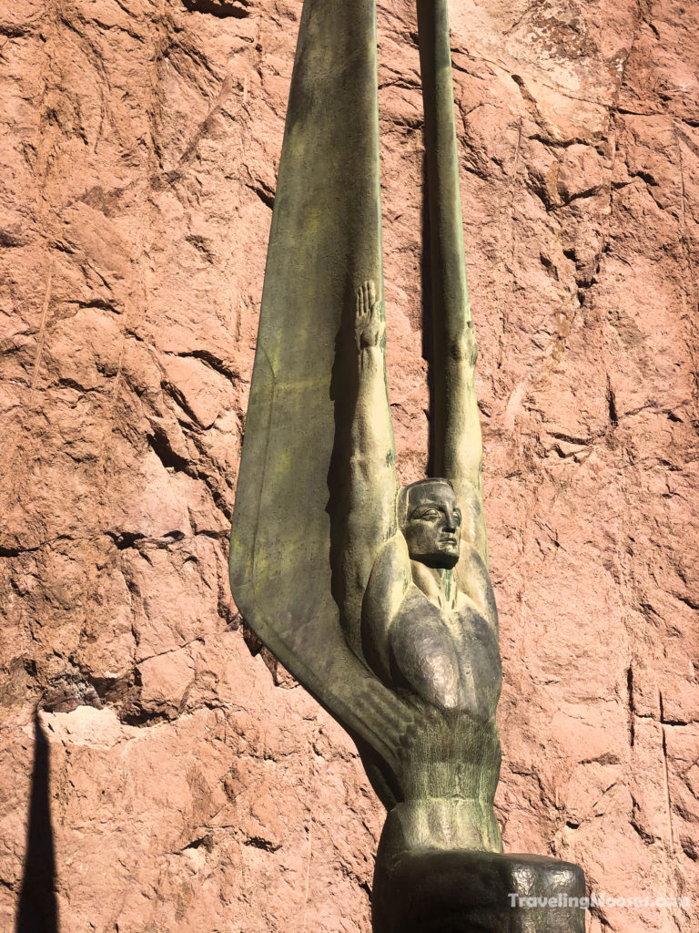 Winged Statue at Hoover Dam
