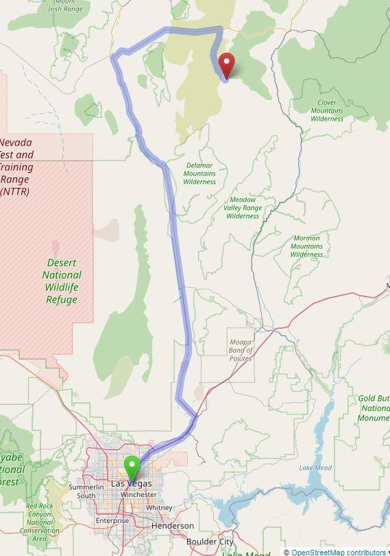 Map to Delamar