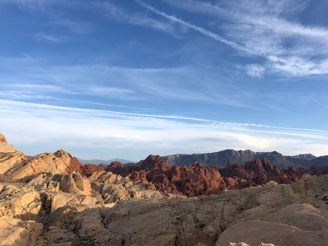 Red Rocks in Valley of Fire