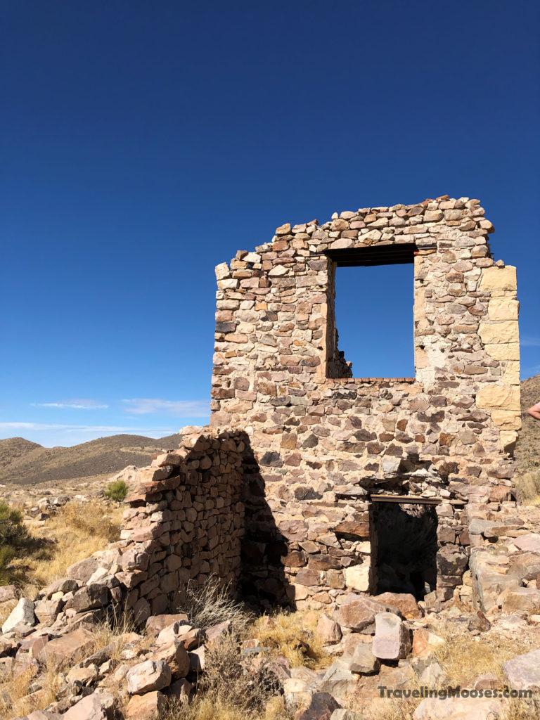 Ruins at Delamar
