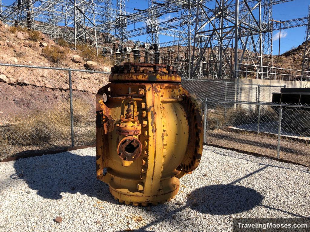Testing bulkhead along historic railroad trail