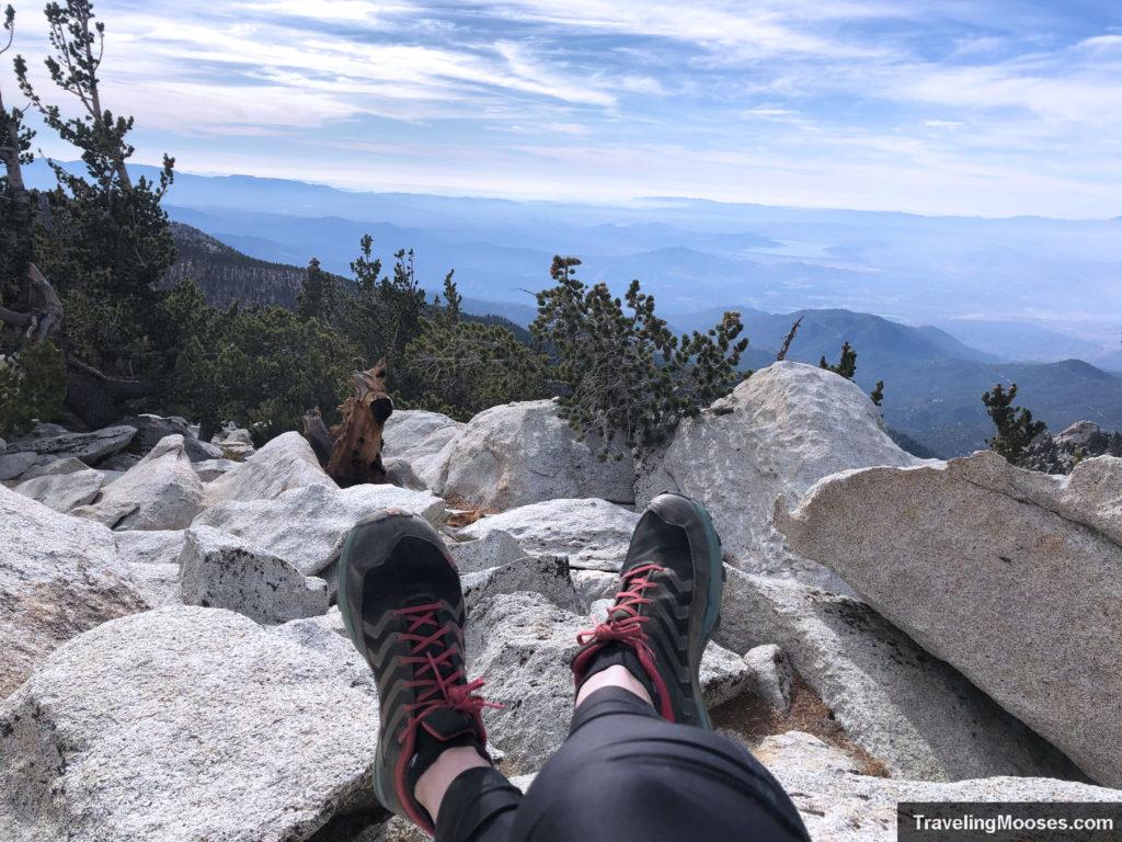 Summit of San Jacinto Peak