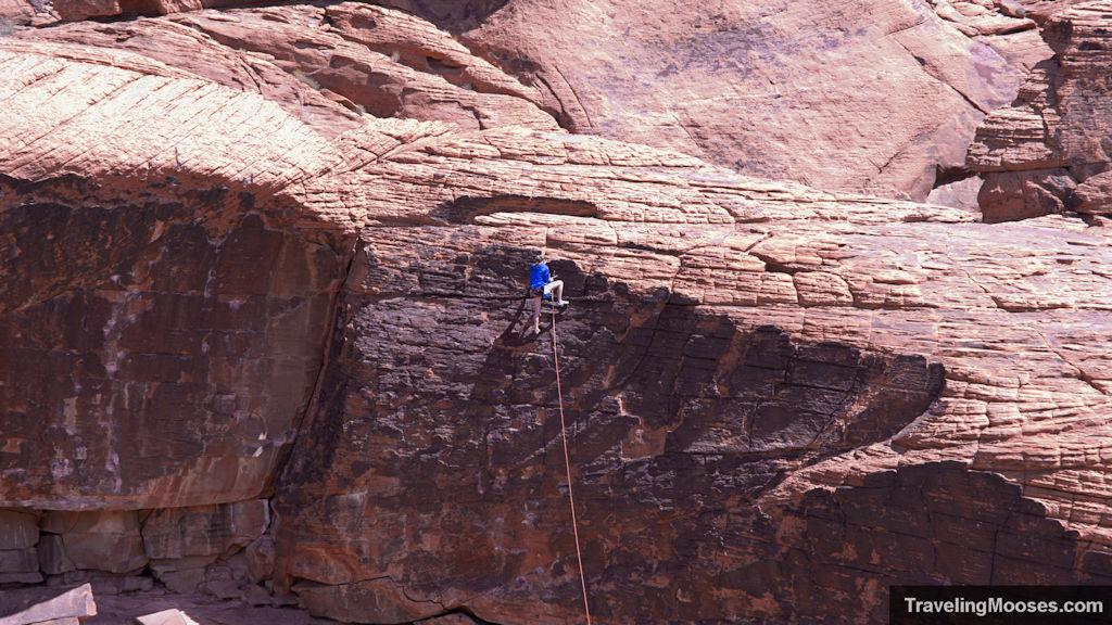 Climber Red Rock Canyon Park