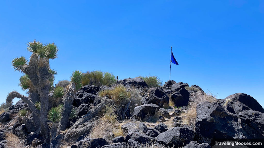Summit of black mountain trail