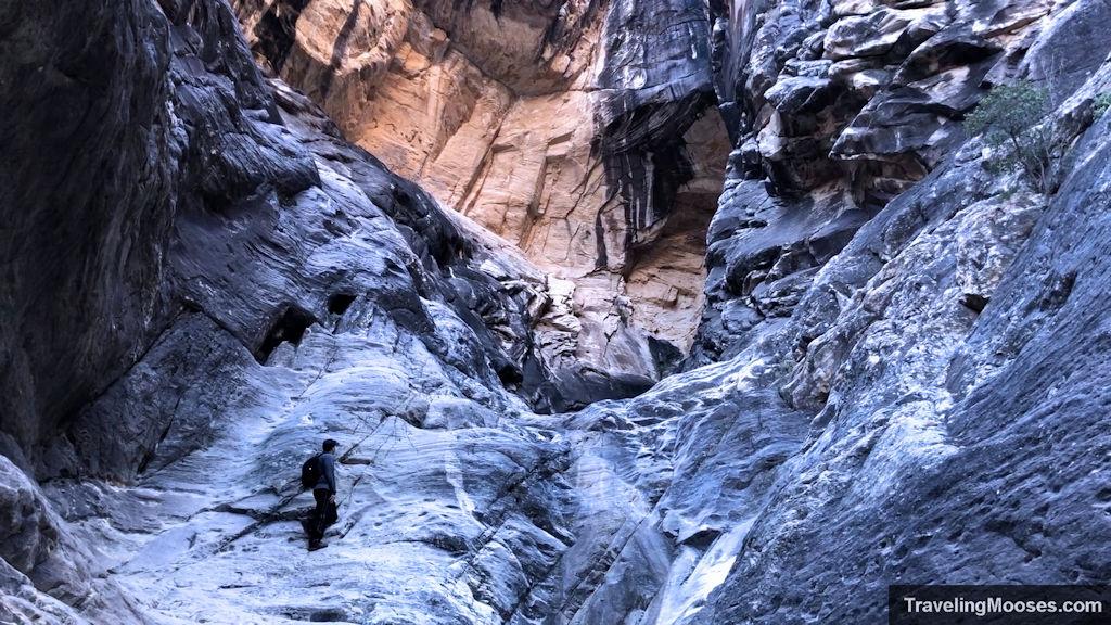 Ice box canyon trail