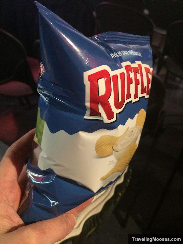 Ruffles chip