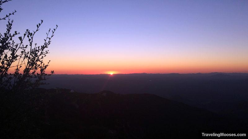 Sunset at Kitt Peak Observatory