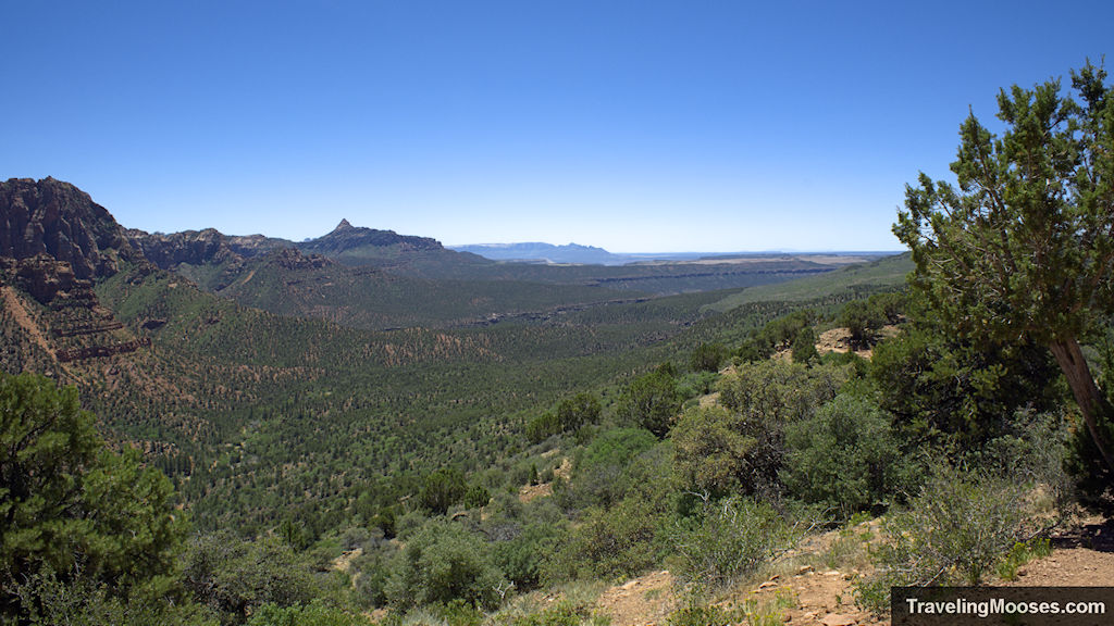 Valley of Kolob as seen from Timber Creek Overlook