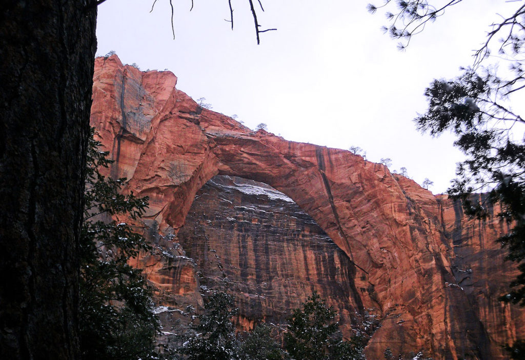 Kolob Arch - 2nd largest natural arch in the world