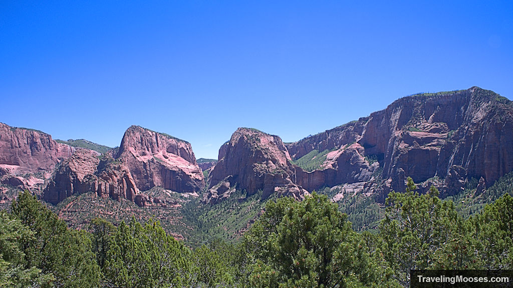 View of Kolob Canyon