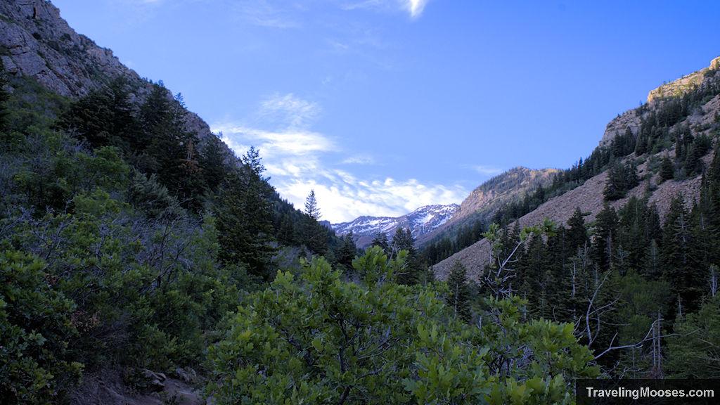 Mountain trail near Lake Blanche in Utah