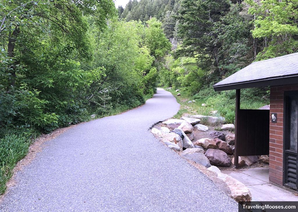 Mill B South Paved Trail
