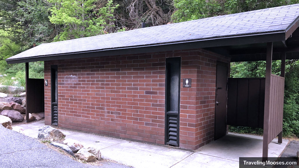 Restrooms at Mill B South Trail