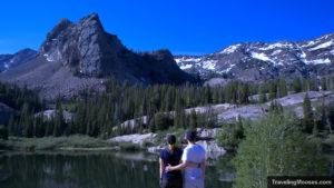 The Mooses overlooking Lake Blanche and Sundial Peak