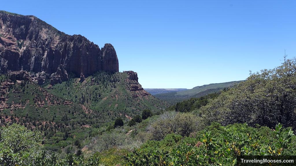 Kolob Canyon overlook