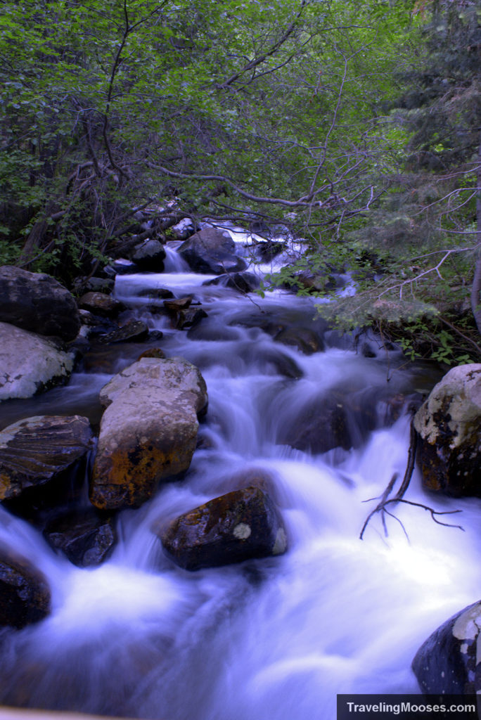 Stream in Big Cottonwood Canyon along Lake Blanche Trail