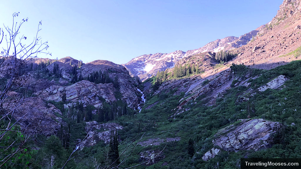 Waterfall in Wasatch National Forest