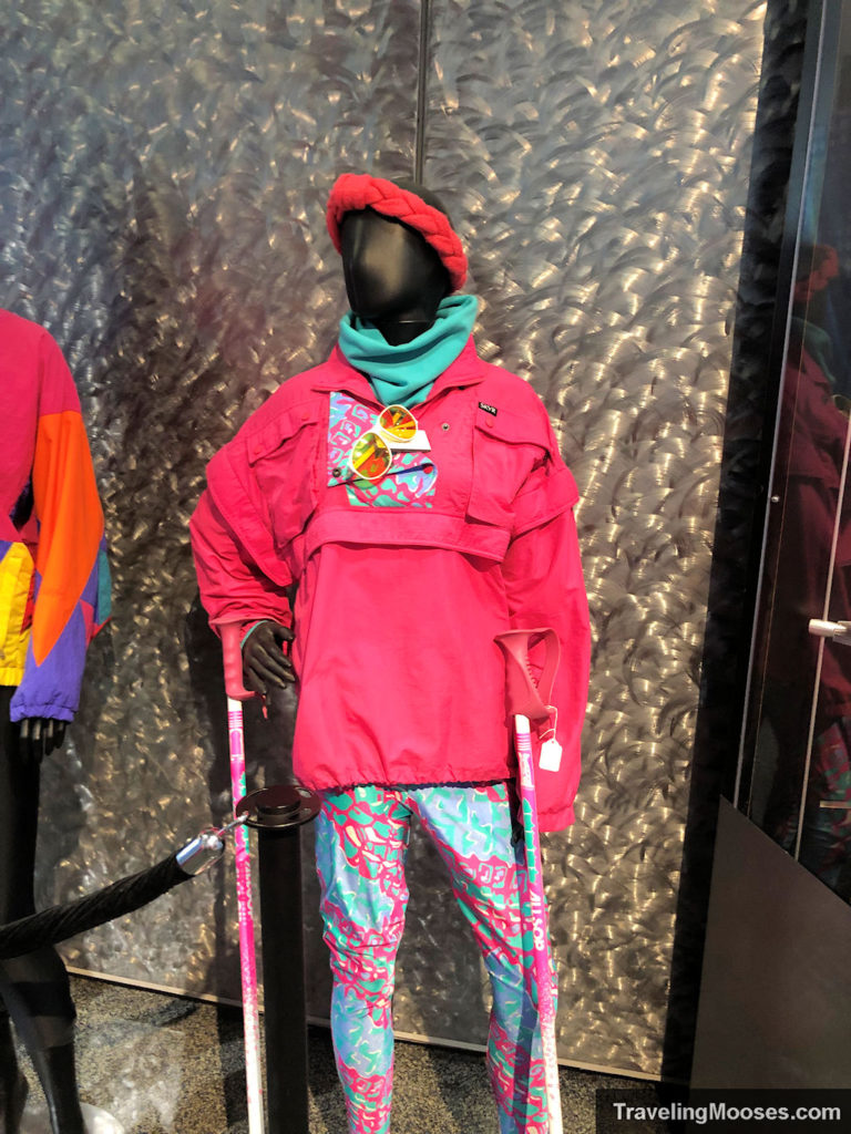 80s ski outfit Alf Engen Museum