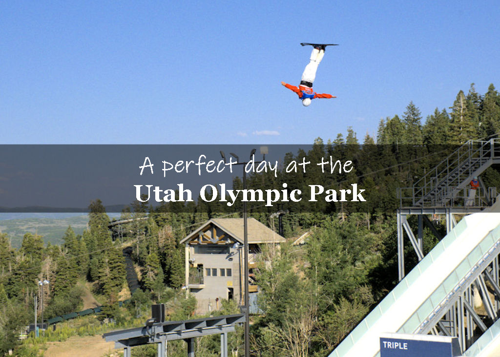 A perfect day at the Utah Olympic Park