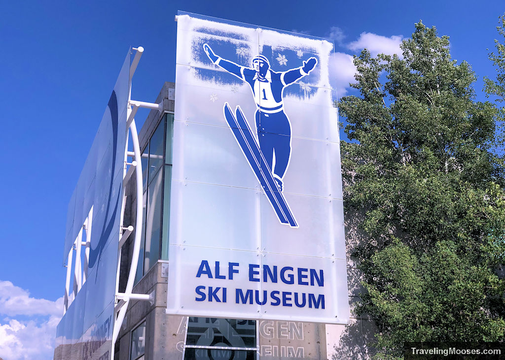 Alf Engen Ski Museum Welcome Sign