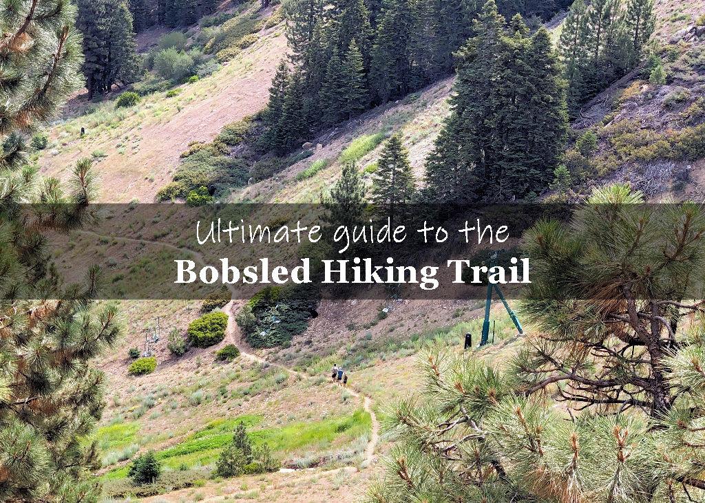 Bobsled hiking trail in Big Bear California
