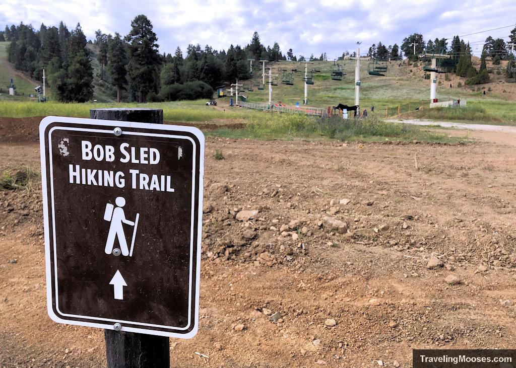 Bobsled trail start