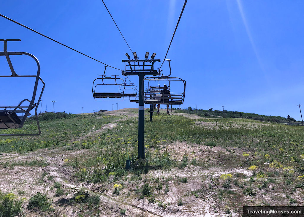 Nordic scenic chairlift to bobsled experience