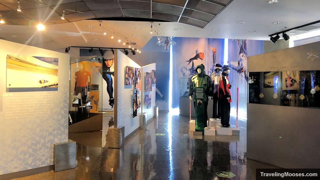 George Eccles Salt Lake Winter Games Museum exhibits