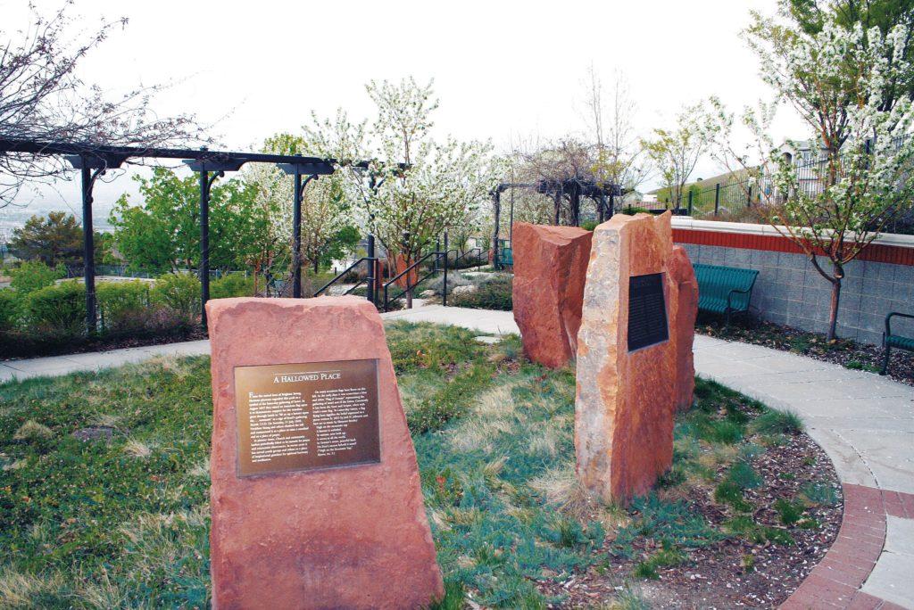 Ensign Peak Memorial Garden