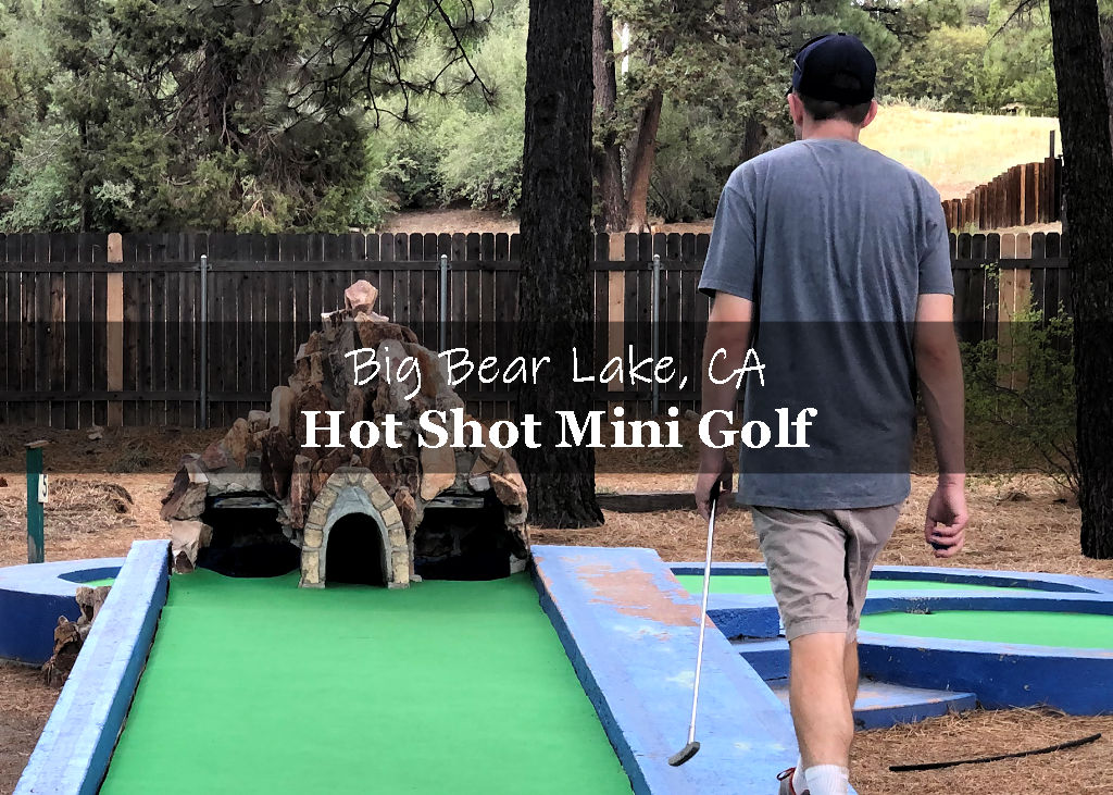 Hot Shot Mini Golf - playing a quick round