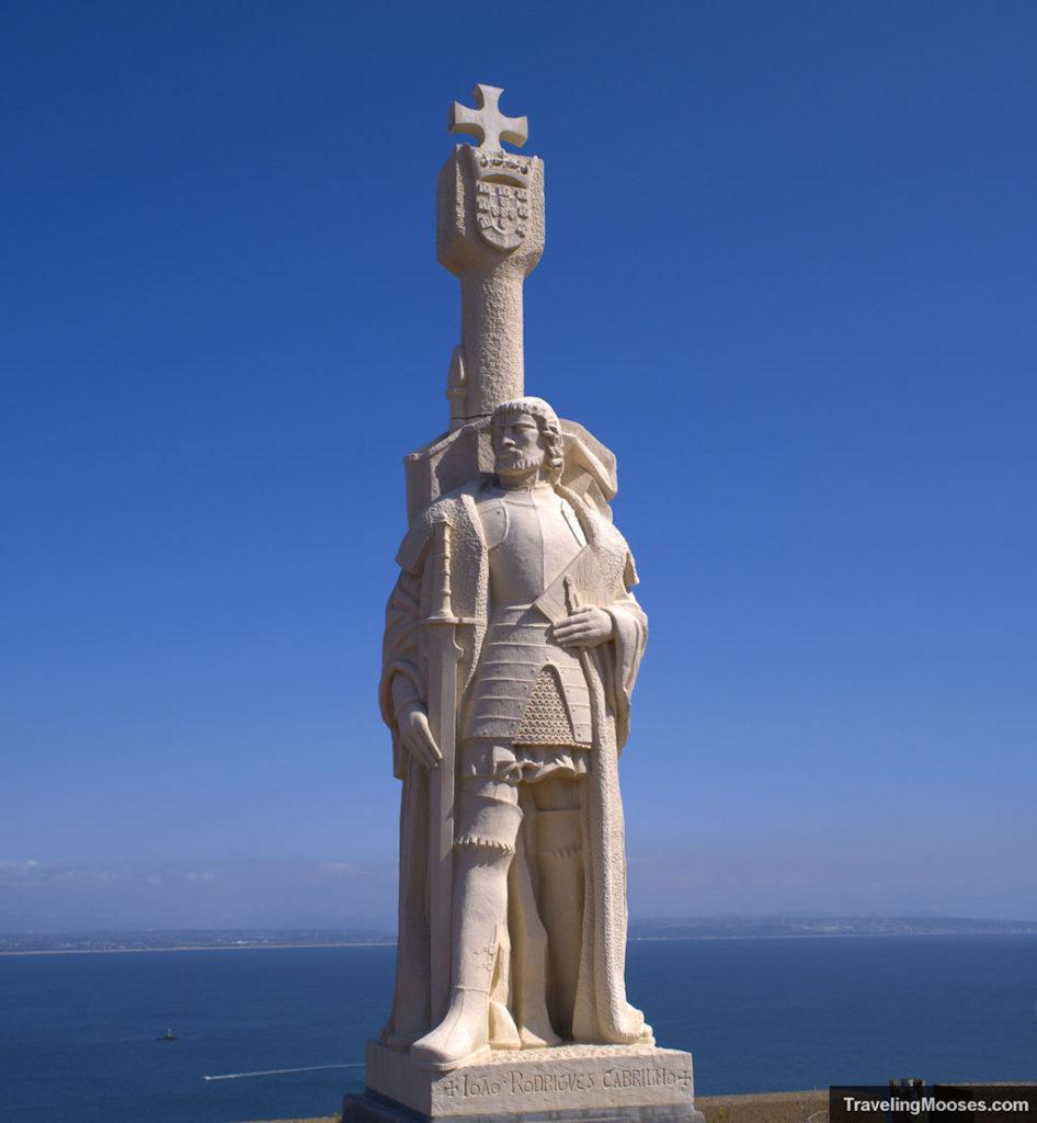 Juan Rodriguez Statue at Cabrillo