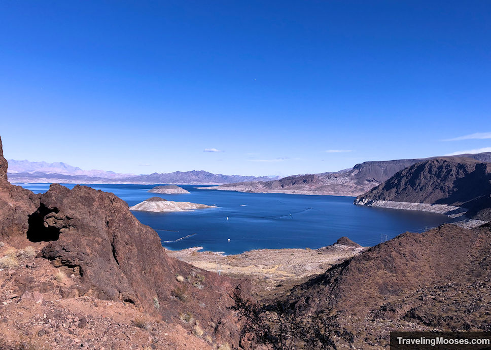 Lake Mead seen from Historic Railroad Trail