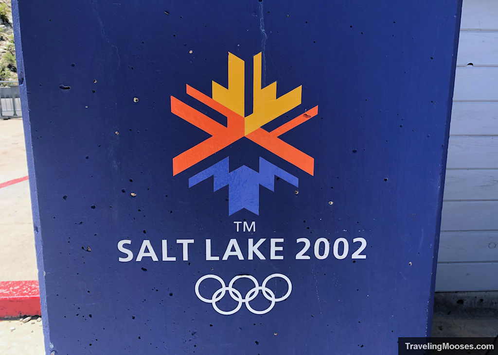 Salt Lake 2002 Winter Games trademarked sign