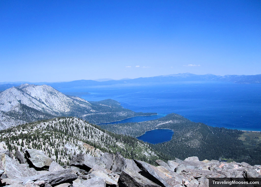 Summit of Mount Tallac in Tahoe