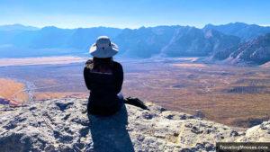 Summit of Turtlehead Peak in Red Rock Canyon