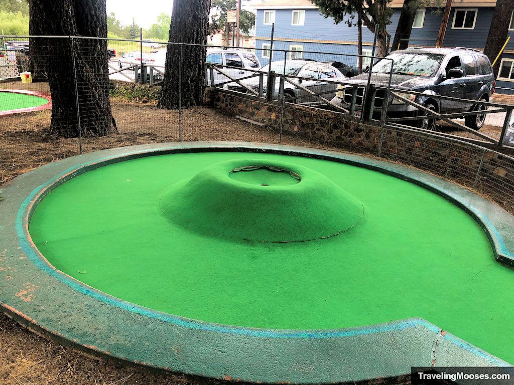 Volcano Hole at Hot Shots Miniature Golf