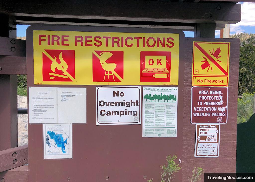 Bristlecone trail rules