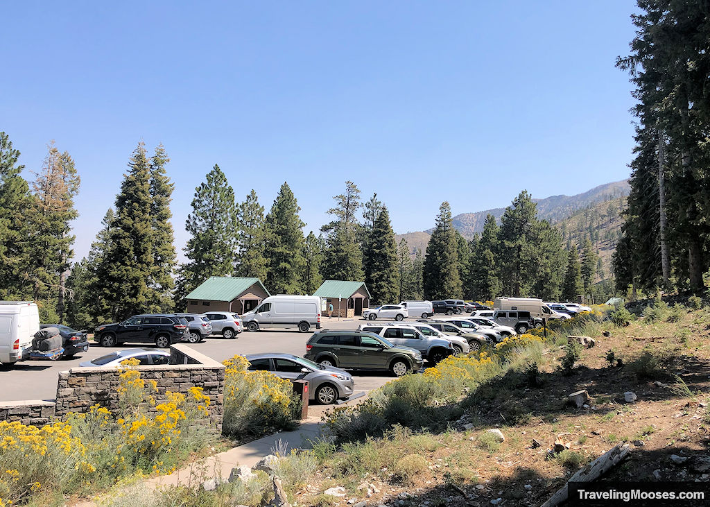 Cathedral RockTrail Lower Parking Lot