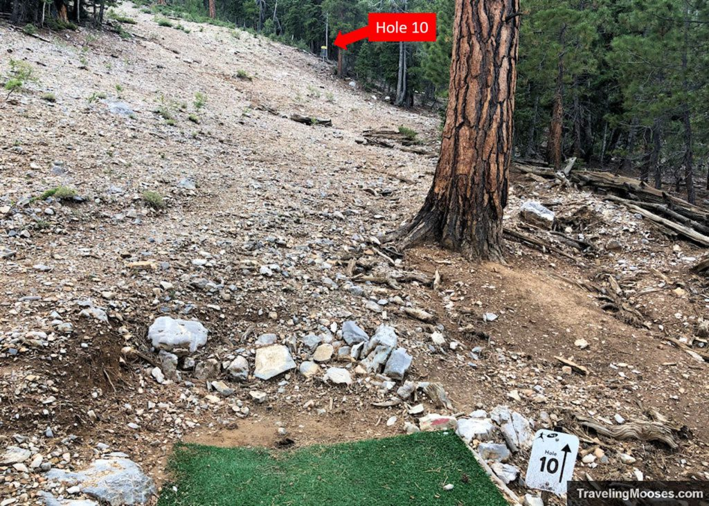 Lee Canyon Disc Golf Hole Ten