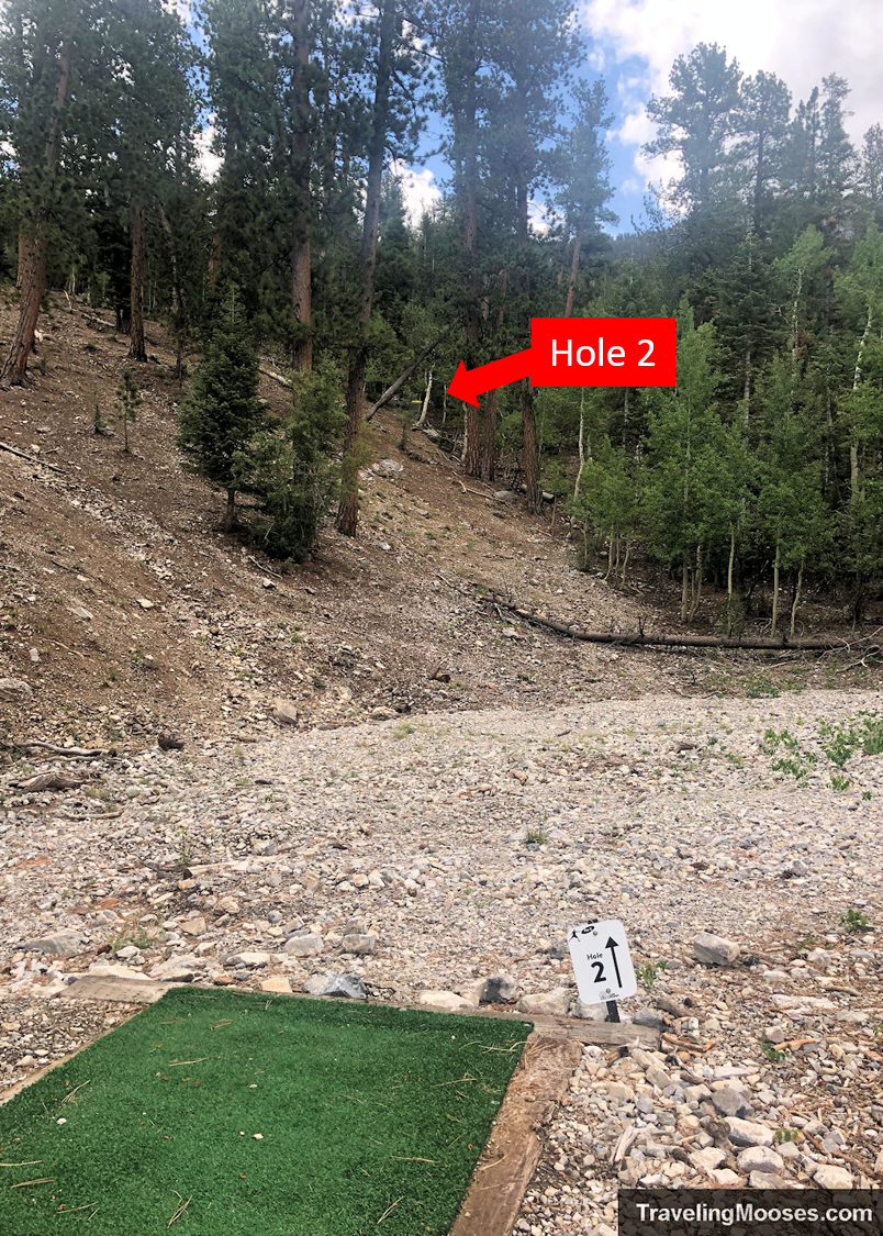 Lee Canyon Disc Golf Hole Two