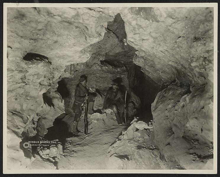Robber Baron's Cave, 1923, Texas