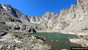 Sky Pond Lake in RMNP Colorado
